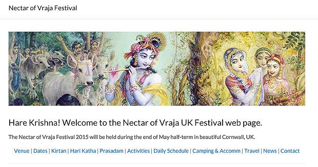 Nectar of Vraja