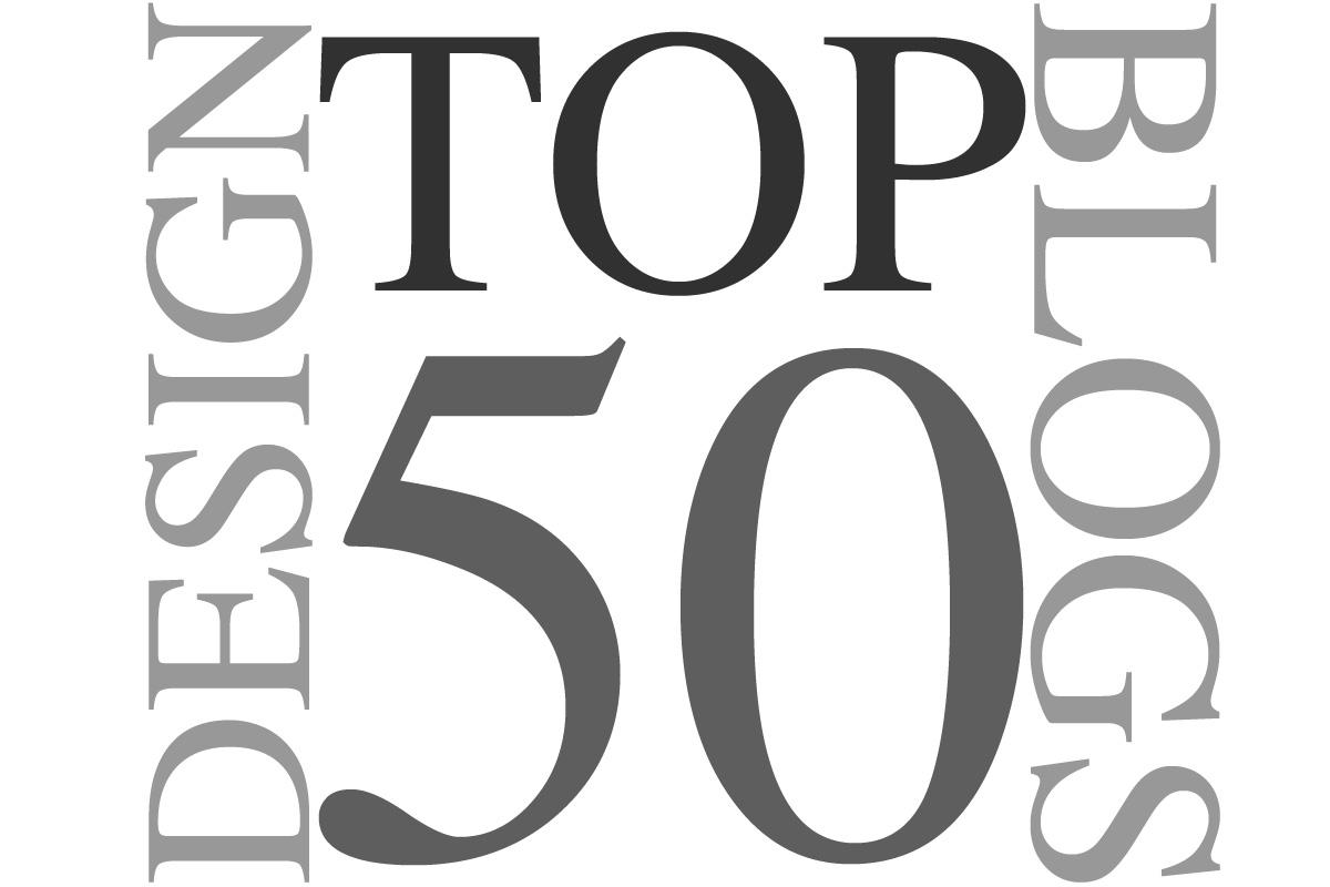 Top 50 design blogs
