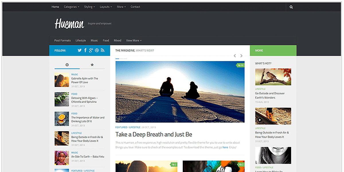 Top Ten WordPress Themes