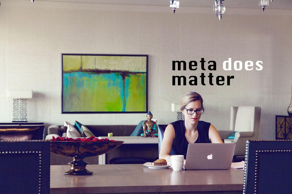 Meta descriptions have a special role